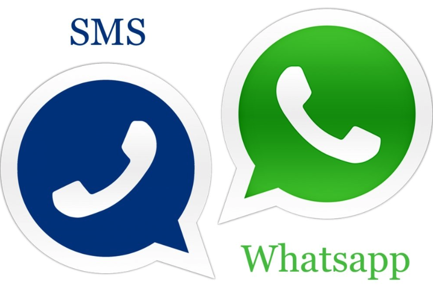 WhatsApp vs SMS 2019